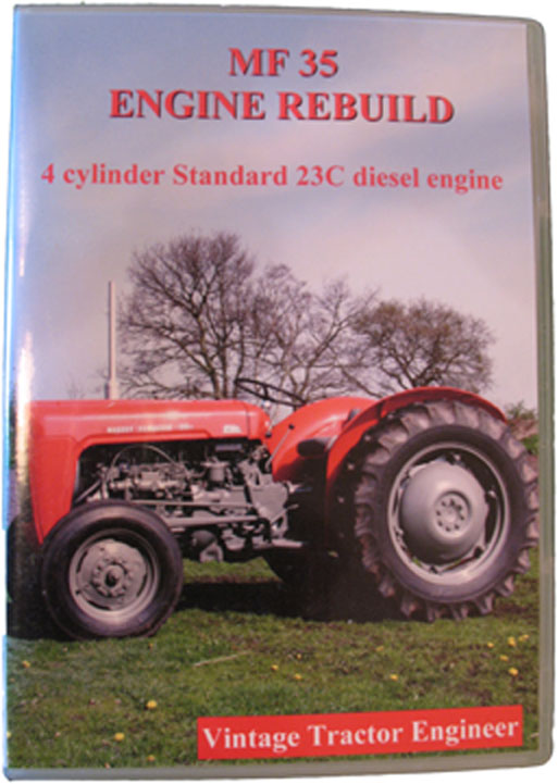 wiring diagram massey ferguson 35 vintage tractor engineer mf35 engine rebuild dvd