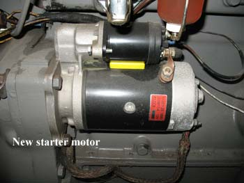 starter motor massey ferguson 65 vintage tractor engineer mf 35 wiring diagram at eliteediting.co