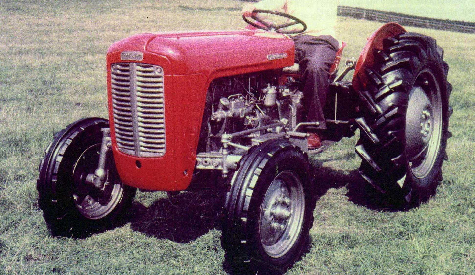 Ferguson To 35 Tractor : Mf engine diagram block wiring odicis