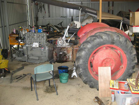Vintage Tractor Engineer - Dave's Ferguson FE35 And Mey ... on