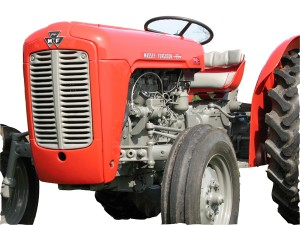 Massey Ferguson 35 tractor in show condition