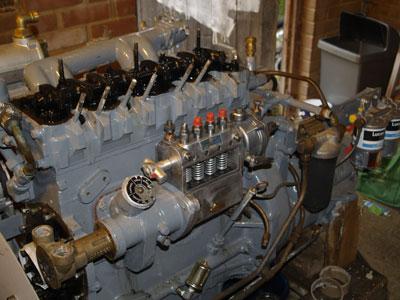 Restored Standard Motor Company 23C Engine