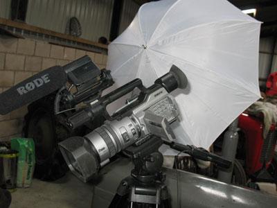 Filming of Ferguson TE 20 Hydraulics DVD