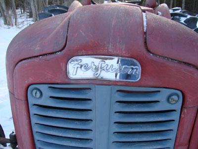 Ferguson Tractor Badge
