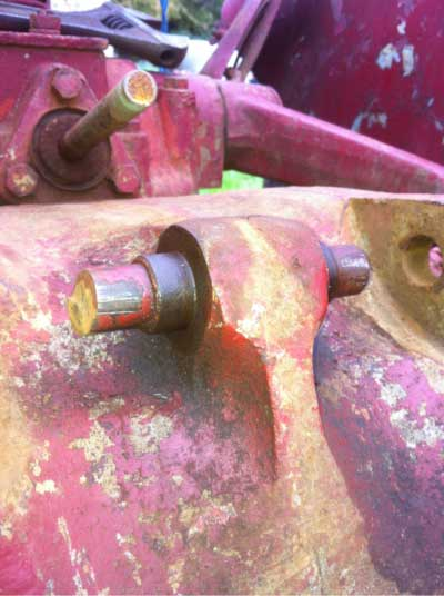 seized clevis pin