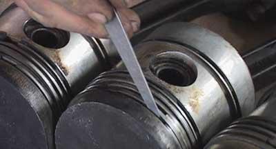 Pistons, Massey Ferguson 35 engine