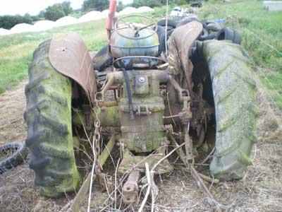 Fordson Major rear linkage