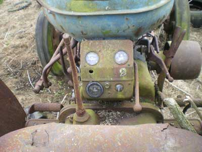 Dash board, fordson major tractor
