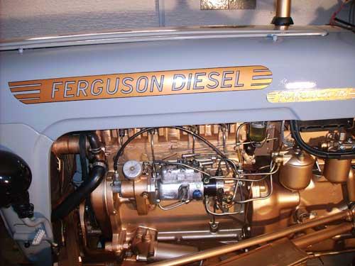 Ferguson Diesel badge