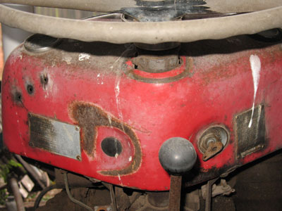 Massey Ferguson 35 Dashboard photo