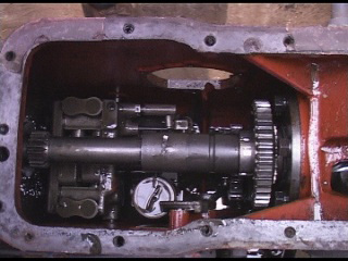 MF35 hydraulic pump