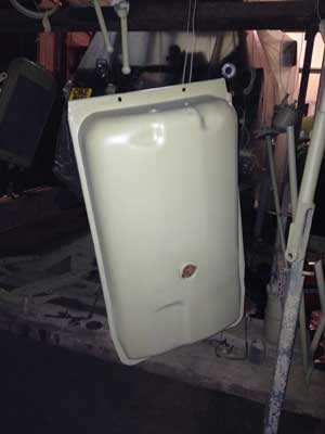 Fuel tank for FE35 tractor
