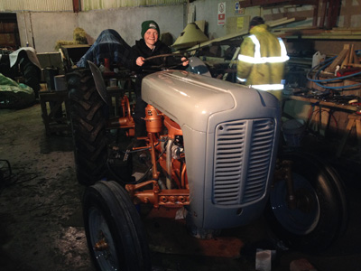 High quality tractor restoration