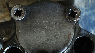 MF135 original oil pump