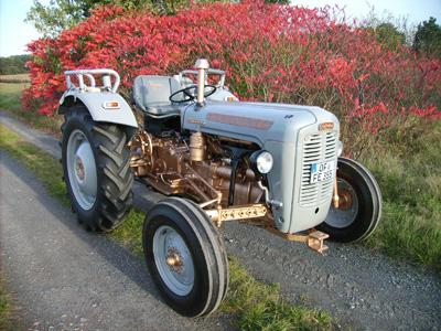 Restored Ferguson FE35 Tractor