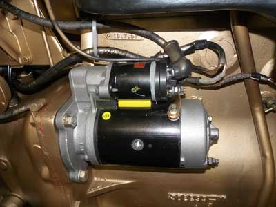 High torque starter motor