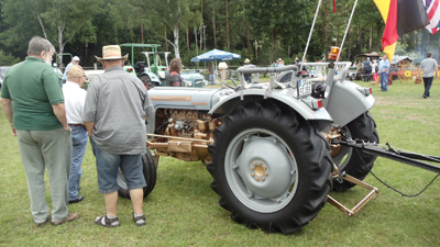 Grey Gold tractor