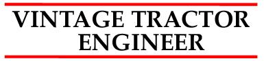 Vintage Tractor Engineer