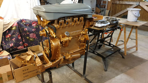 Engine refurbished, Ferguson 35